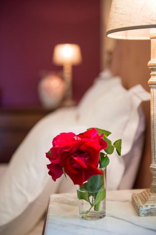 Chambre pourpre bouquet